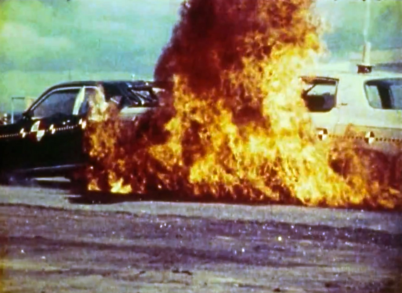 Legendary Crash Test Video: 71 Impala vs 72 Pinto - Full Rear Impact - Chevy Hardcore