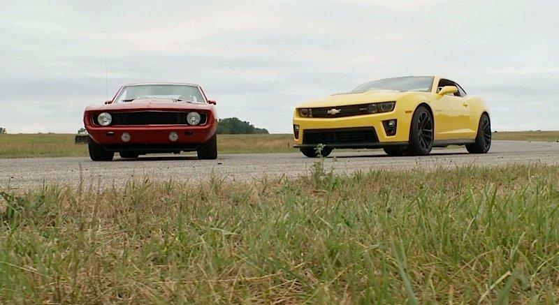 "Video: Mark Stielow's ""Red Devil"" '69 Camaro Vs. the New ZL1"