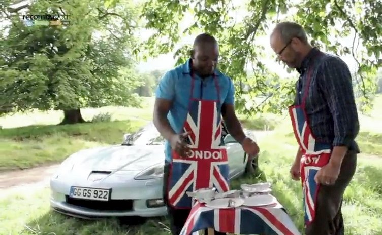 Video: This Corvette Really Cooks... Literally!