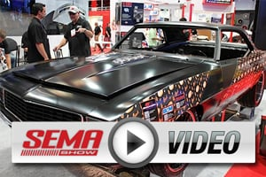 SEMA 2012: 1969 Camaro Build Using Flowmaster, Hurst And B&M