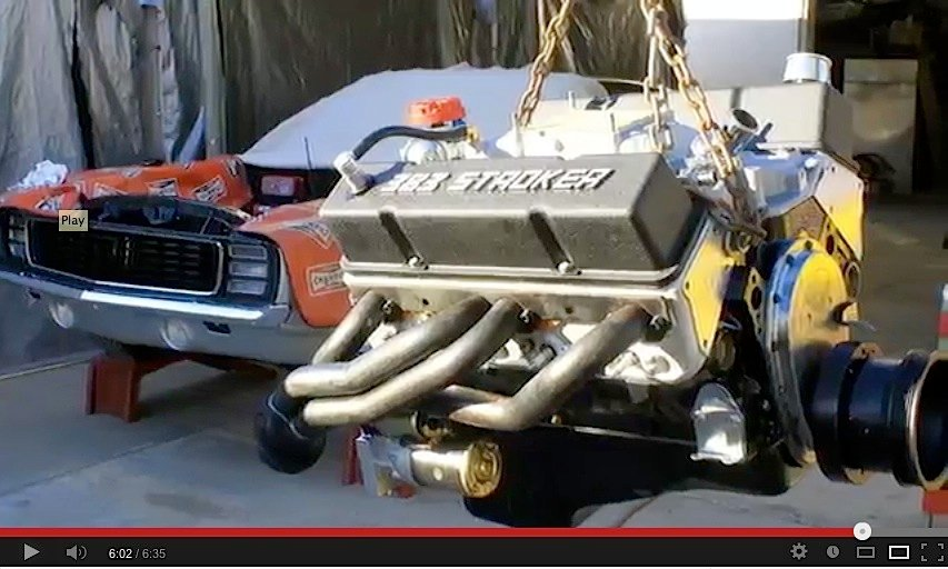 Cool Time-lapse Video Showing 383 Stroker Build