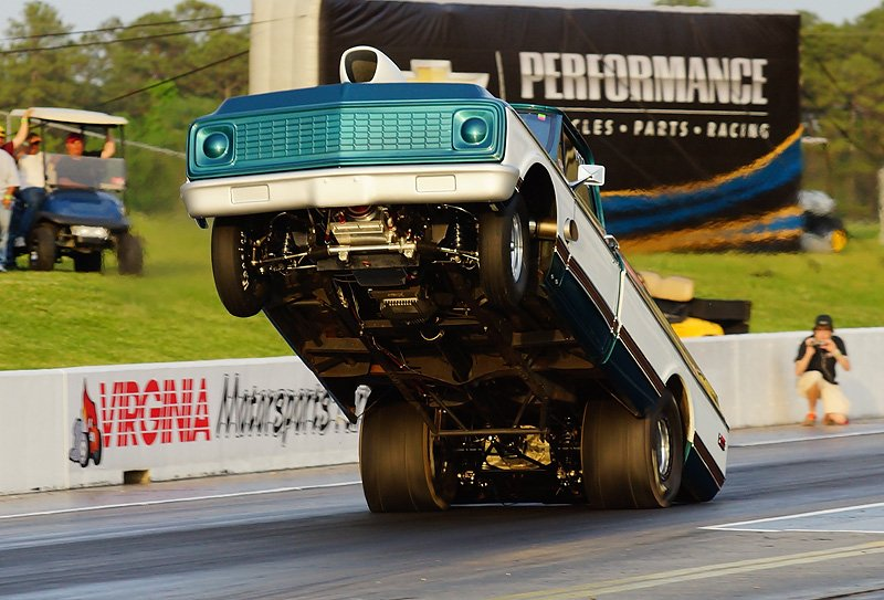 Sites Does it Again! His '71 Chevy Pickup Truck Smashes His Own Record