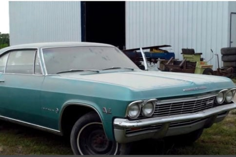 Video: Classic Cars Being Auctioned Off By Lambrecht Chevrolet