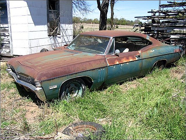Barn Find: A Running 1968 Chevy Impala SS427 - Chevy Hardcore