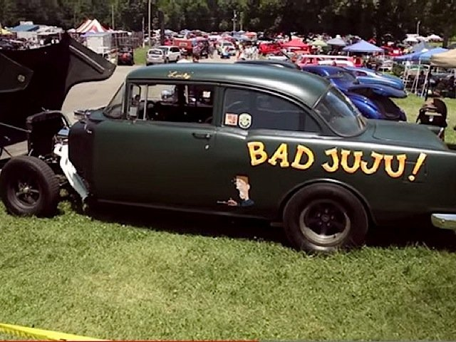 Video: Lance Yoakem Shows Off One Bad '55 Gasser