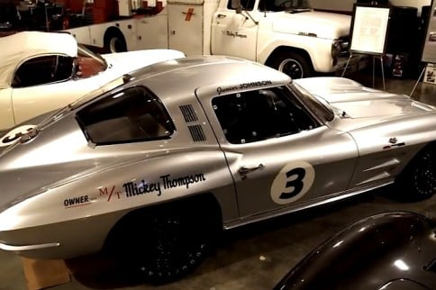 Video: Mickey Thompson's 1963 NASCAR Corvette