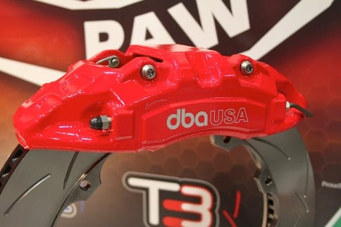 SEMA 2014: DBA USA Adds Calipers and Rotor Ring Upgrades