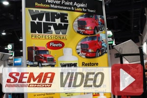 SEMA 2014: Wipe New Protects And Beautifies Without Oily Residue