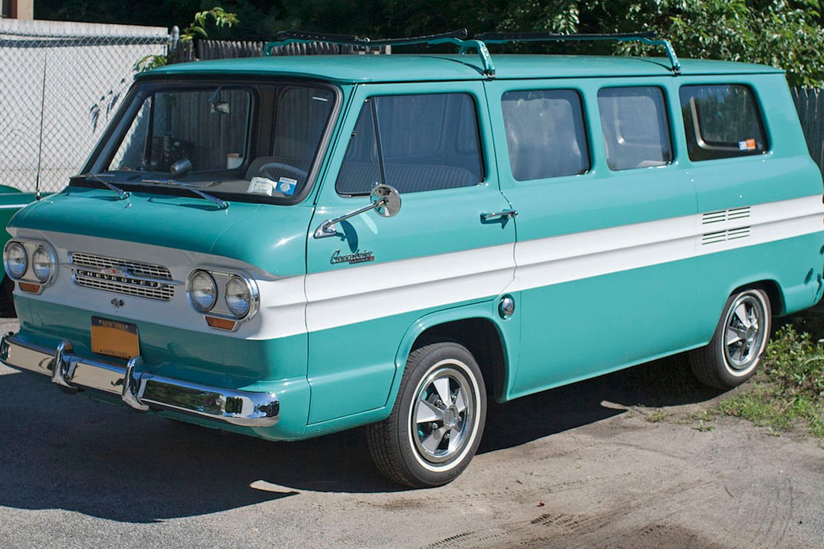 Top 5 Chevy Vans Of All Time 1 1961 1965 Corvair Greenbrier Chevy Hardcore