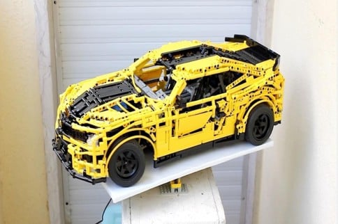 Video: Fully Functional 3D Model Of 5th Gen Camaro Made Of Legos