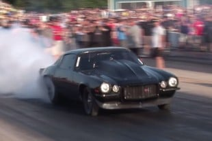 Video: Street Outlaws' Chuck vs. Monza No Prep Drag Racing Showdown