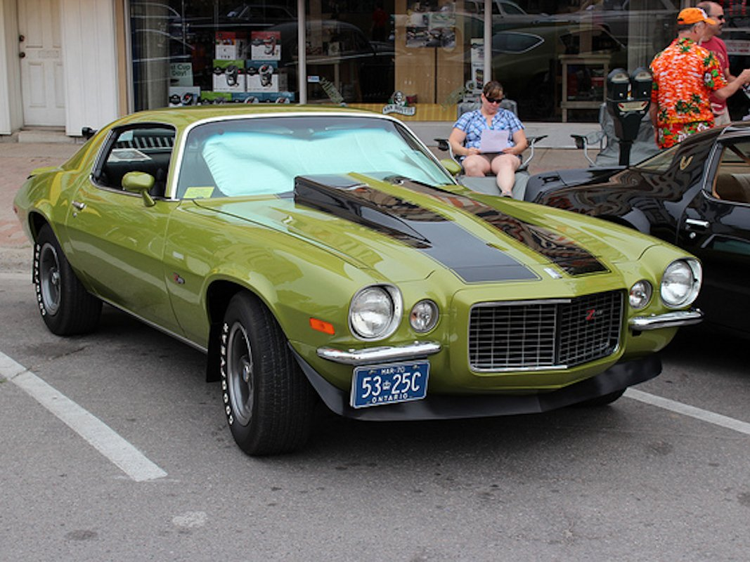 Differences Within A Generation 1970 To 1973 Camaro