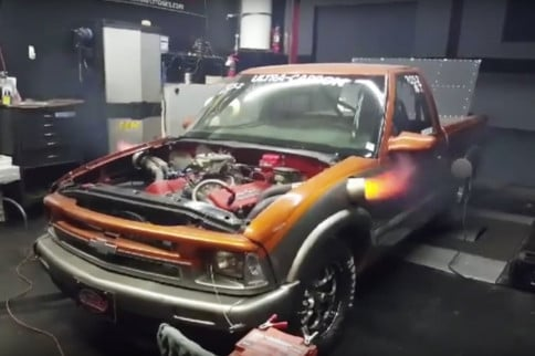 "Inside ""Shirtless"" Chad McGee's Grudge Racing Nitrous S10"