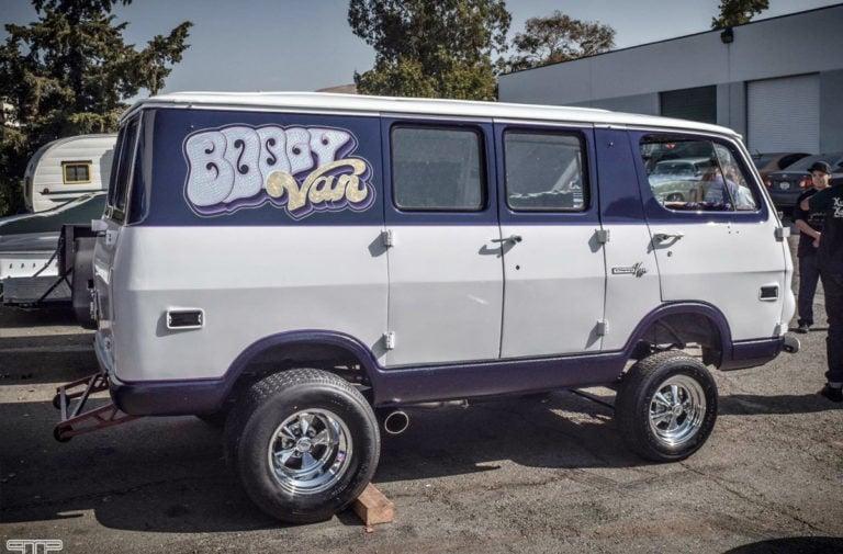 Street Feature: The Boogy Van Packs A Supercharged Big-Block Punch