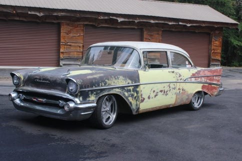 This LT-Powered 1957 Chevy Built By BRP HotRods Is More Than Cool