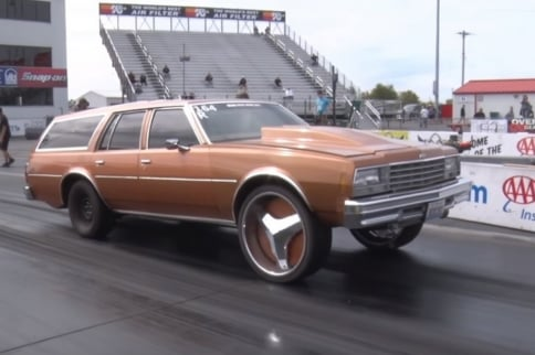 Redonkulous: Alan Robinson's Wild 11-Second Drag Week Impala Wagon