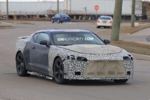 2019 Prototype Camaro Spied Testing: Could It Have The LT5?