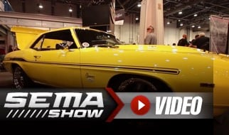 SEMA 2018:Classic Industries' 69 Yenko Camaro Showed Up & Showed Out