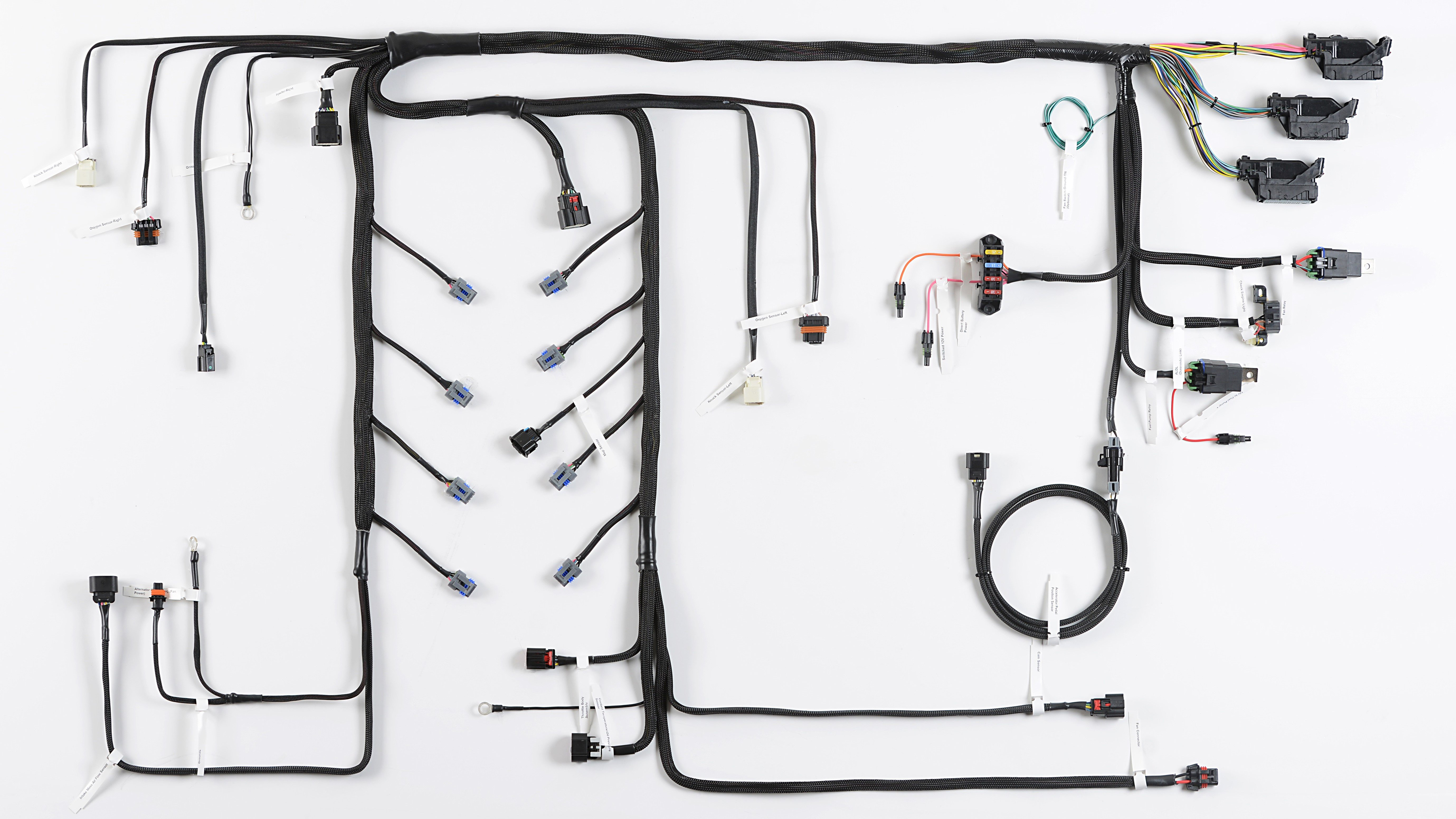 drag racing wiring harness wire it up ls swap harness options on a budget  wire it up ls swap harness options on