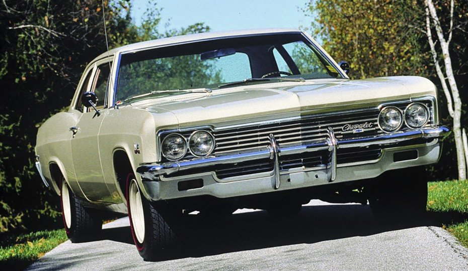 Rare Rides: The 1966 Chevrolet Biscayne L72 427