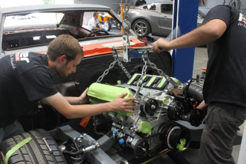Crate-Engine Options For Your Hot Rod From BluePrint Engines
