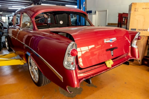 Follow The Build: Project Gift Horse, A '56 Chevy 210 Sedan