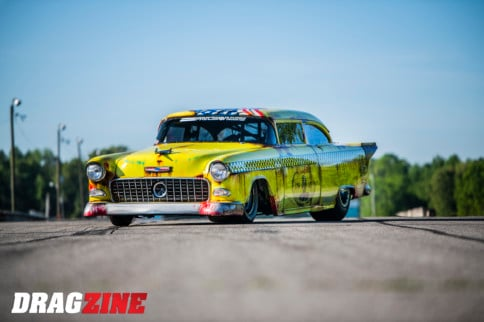 The Killer Cab: Jamie Otts' Sinister Turbocharged 1955 Chevy