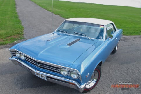 This '67 Chevelle Is A Day-Two Rendition Of Chevy's Mid-Size Muscle
