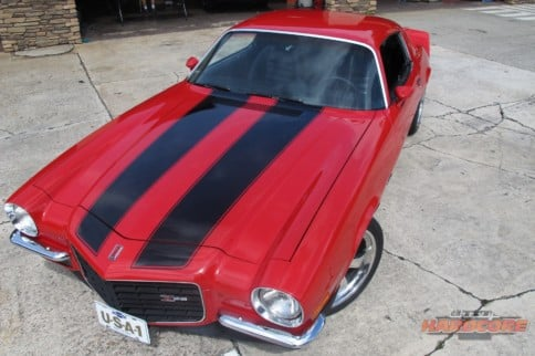 1973 Chevrolet Camaro Is a Crimson Beauty