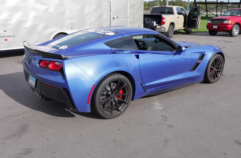 Video: Is the C7 Grand Sport A Better Track Toy Than The Z06?