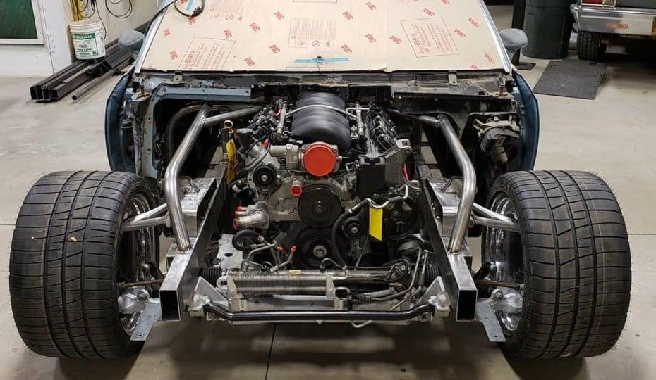 ProjectGsix: 1985 Monte Carlo Secretly Packs C6 Corvette Performance