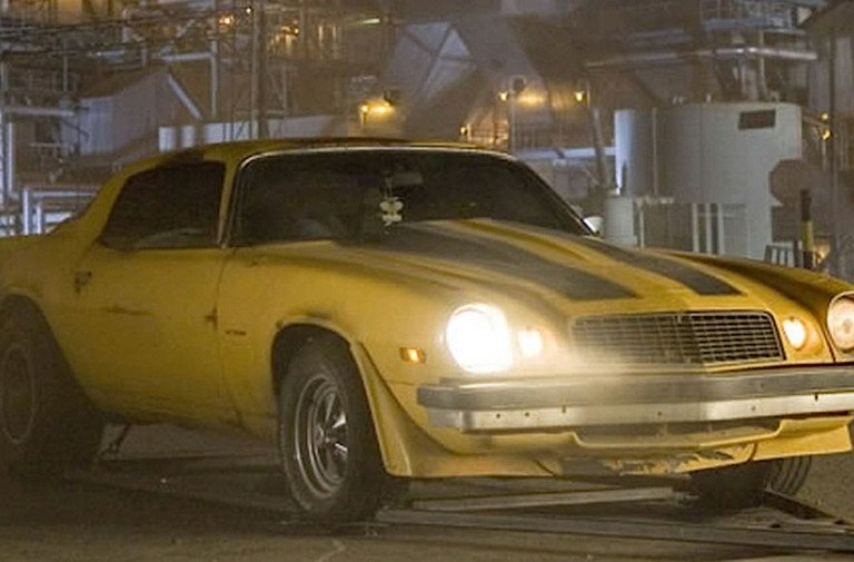 Rob's Movie Muscle: The 1977 Camaro Z/28 From Transformers