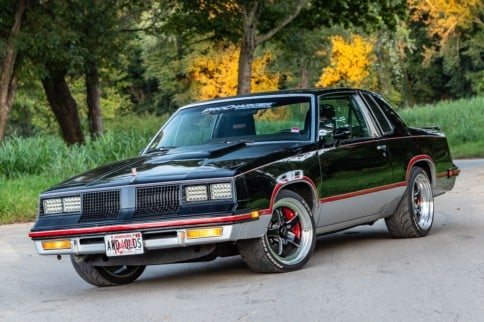 The Retro Rocket: ProCharged LS AWD Cutlass Cut From Carbon