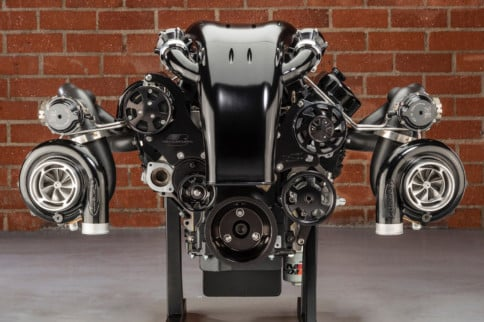 Twin-Turbo 474-Cube LS Makes North Of 2,000 Horsepower With NRE