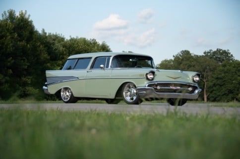 '57 Chevy Nomad: A His And Her Dream Became A Reality