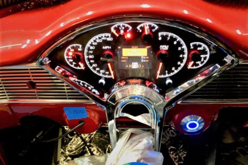 Our Project Gift Horse '56 Chevy Goes Dakota Digital