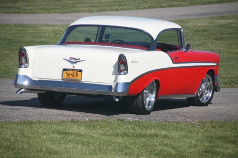 This '56 Chevy Went From Just Radically Powerful To Radically Cool