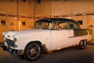 Video: Chevrolet Performance's Bel Air With LS3 Connect And Cruise
