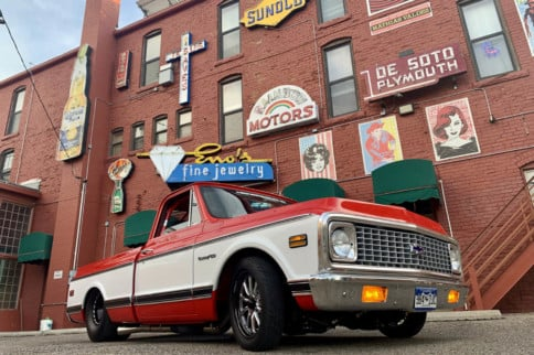 This '71 Chevy Street Truck Is The Ultimate Father-Son Project
