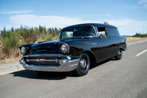 This 1957 Chevy Sedan Delivery is Old-School And Defines